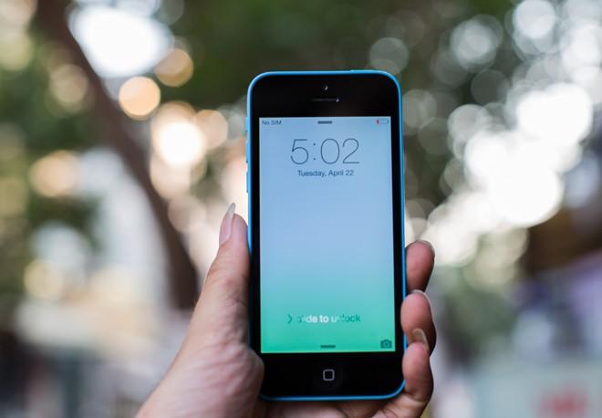iPhone 5c bản 5GB xuất hiện tại Việt Nam 5