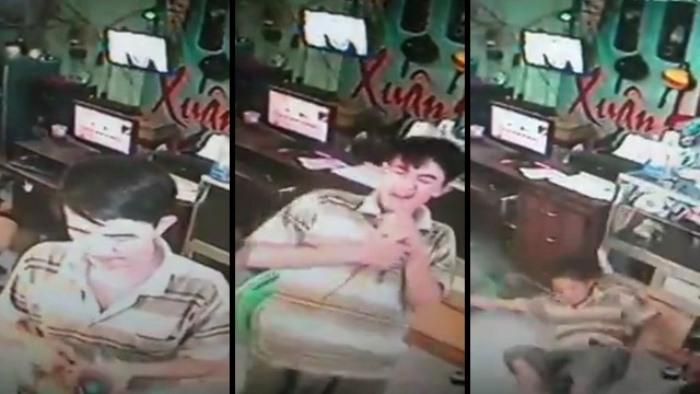 Thanh niên bị điện giật tung người khi cắm sạc điện thoại 6