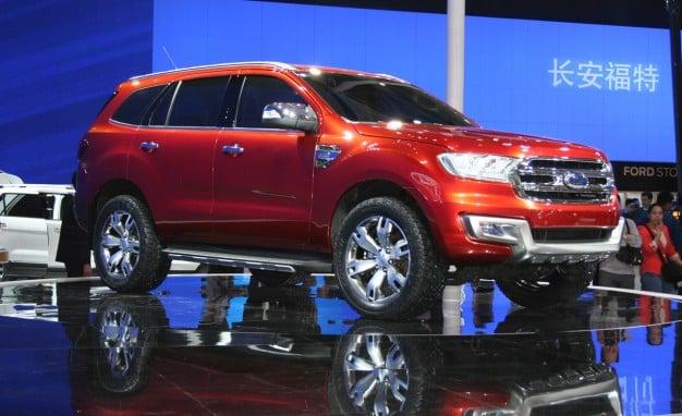 Bắc Kinh Motor Show 2014 : Ford Everest Concept - Thêm cơ bắp cho SUV 5