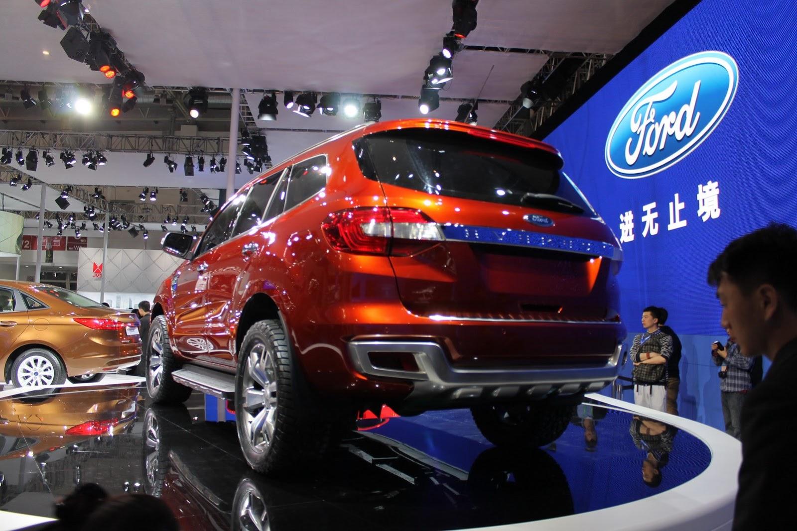 Bắc Kinh Motor Show 2014 : Ford Everest Concept - Thêm cơ bắp cho SUV 7