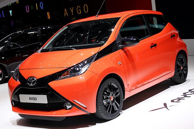 Hình ảnh Toyota Aygo mới tiêu thụ xăng như Honda SH số 1