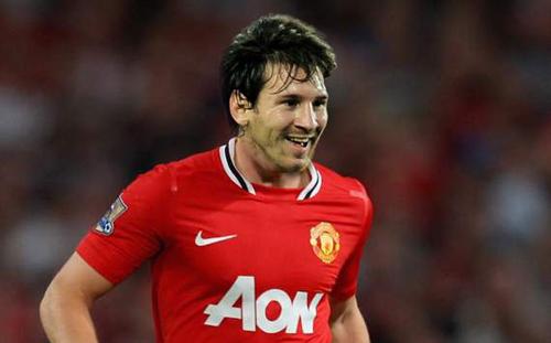 M.U đã âm thầm mua Messi 6