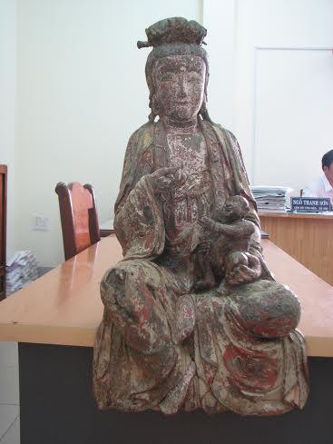 Đang làm đường, phát hiện hàng loạt tượng Phật cổ bằng đồng 8
