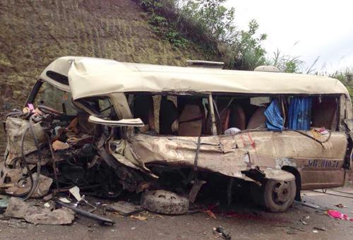 Danh sách nạn nhân vụ xe container đâm xe khách tại Quảng Ninh 8