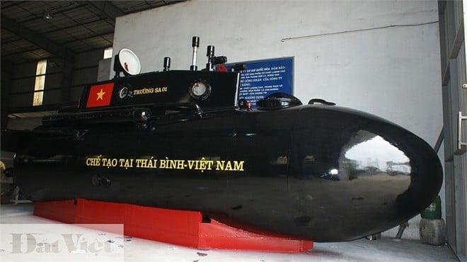 Tàu ngầm Trường Sa 01 không được thử nghiệm ở biển Thái Bình 4