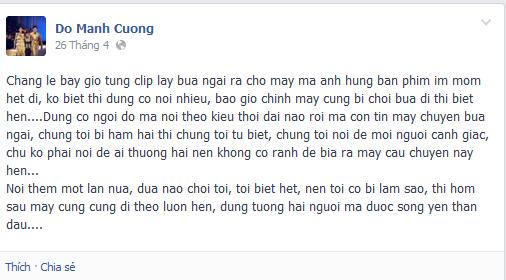 Những bí mật khủng khiếp về chuyện hại bùa ngải trong showbiz Việt 7