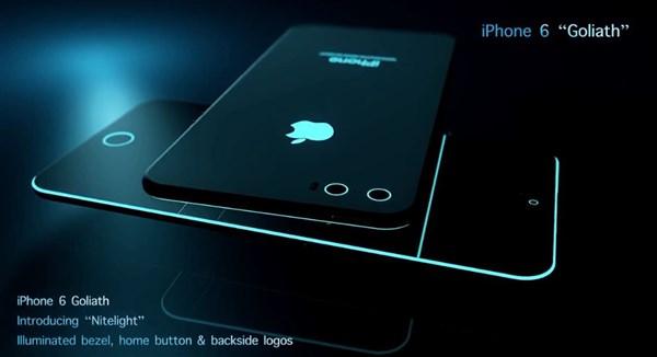 Concept iPhone 6 cực đỉnh với viền màn hình phát sáng 5