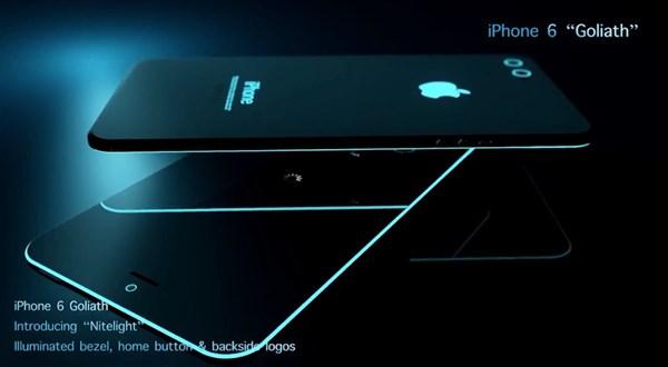 Concept iPhone 6 cực đỉnh với viền màn hình phát sáng 7