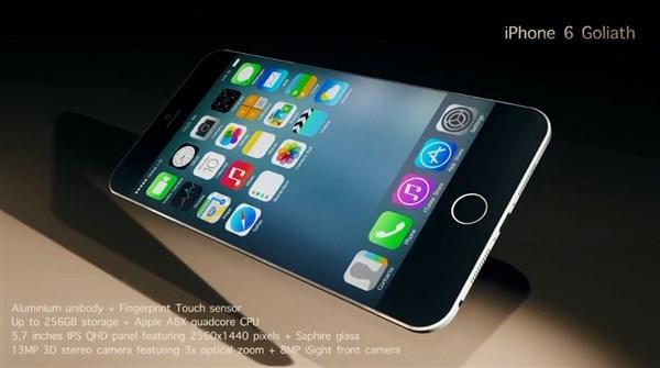 Concept iPhone 6 cực đỉnh với viền màn hình phát sáng 9