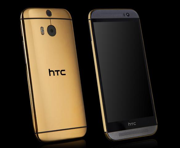 """Cận cảnh """"tuyệt tác"""" HTC One (M8) phiên bản vàng 24k 6"""
