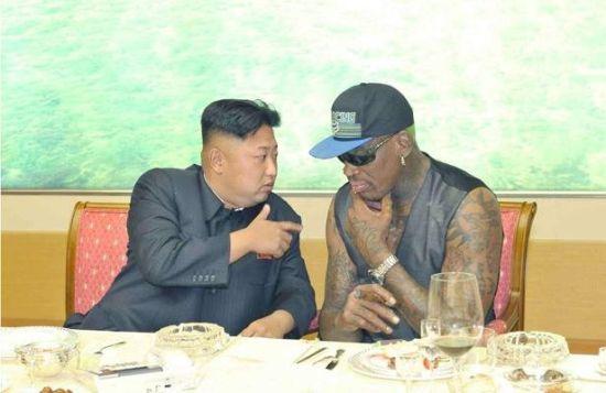 Ngôi sao bóng rổ Mỹ tuyên bố Kim Jong Un không thanh trừng chú 7