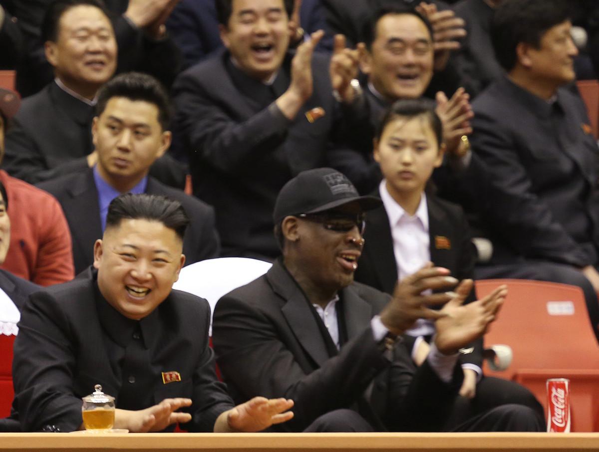 Ngôi sao bóng rổ Mỹ tuyên bố Kim Jong Un không thanh trừng chú 8