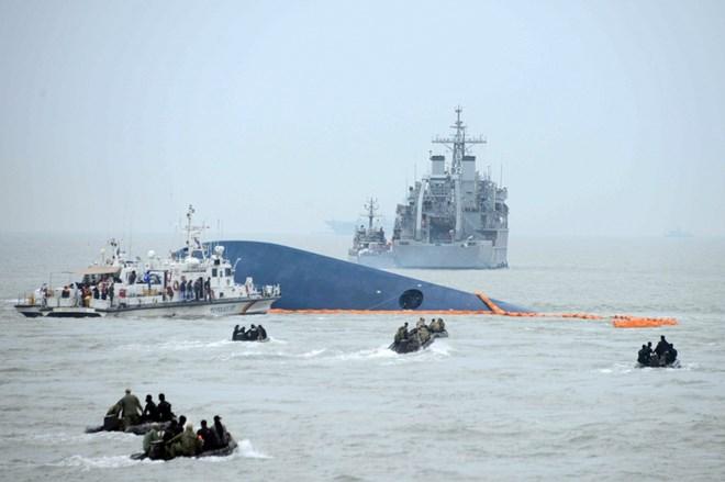 Hàn Quốc công bố 'thủ phạm' đích thực gây chìm phà Sewol 6