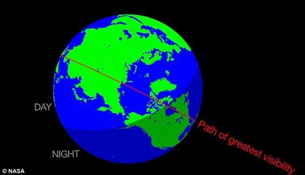 Trái Đất chuẩn bị đón