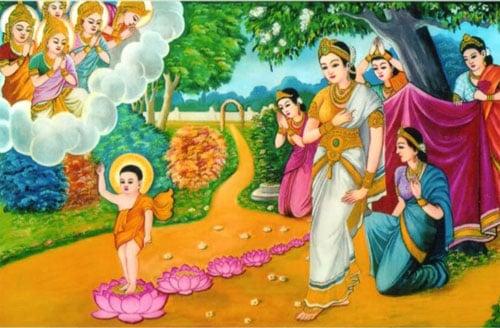 Sự thật Đức Phật đản sinh vào ngày nào? 1