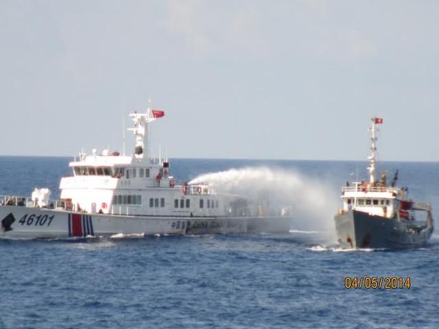 Các loại tàu Trung Quốc tấn công tàu Việt Nam ở biển Đông 5