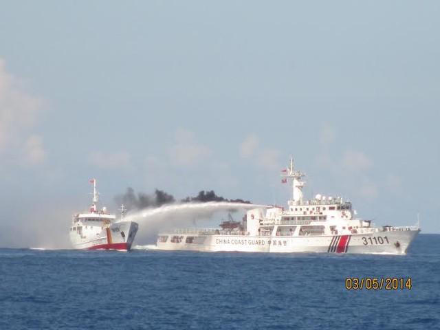 Các loại tàu Trung Quốc tấn công tàu Việt Nam ở biển Đông 8