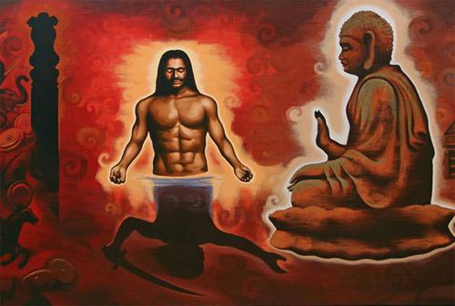Nhân lễ Phật đản: Chuyện ly kỳ về vị vua khát máu trở thành Phật tử 1