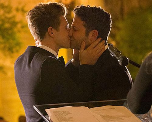 Lễ cưới lãng mạn của cặp sao Hollywood đồng tính  4