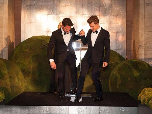 Lễ cưới lãng mạn của cặp sao Hollywood đồng tính  5