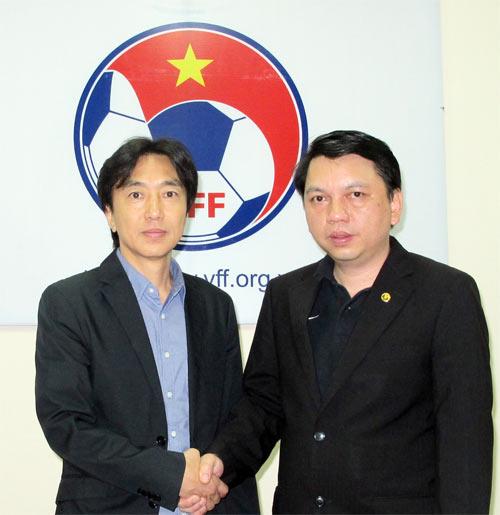 Chính thức công bố HLV trưởng ĐTQG Việt Nam 5