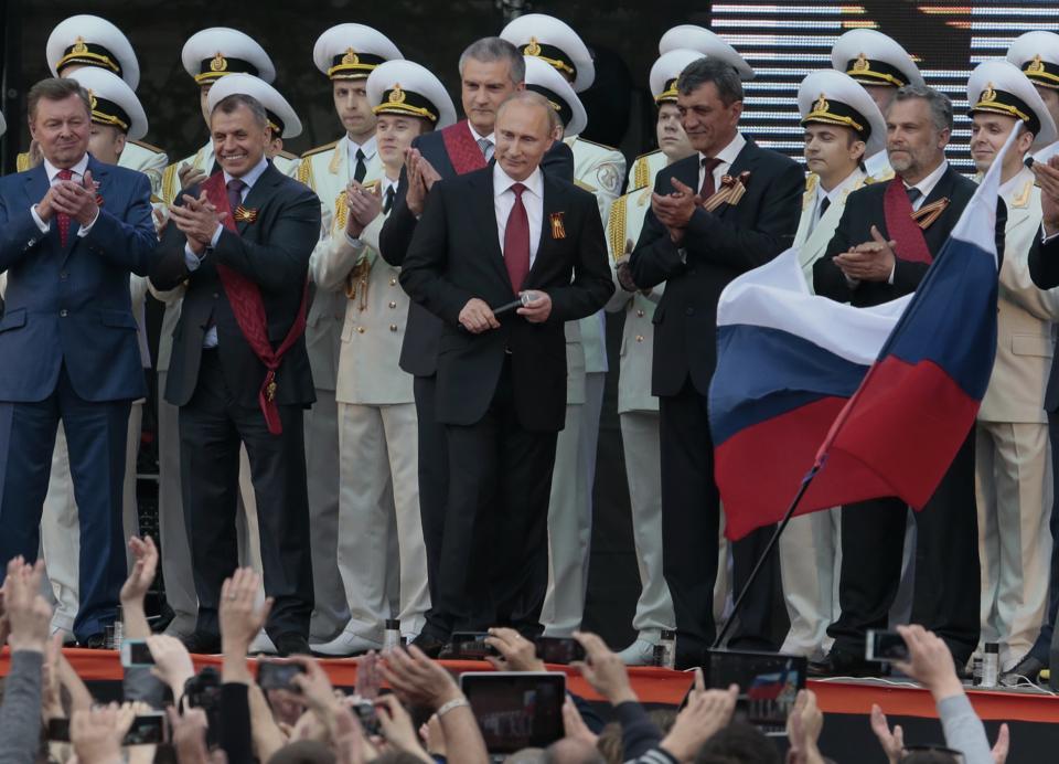 Nga, Ukraine diễu binh kỷ niệm chiến thắng phát xít Đức (9/5) 19