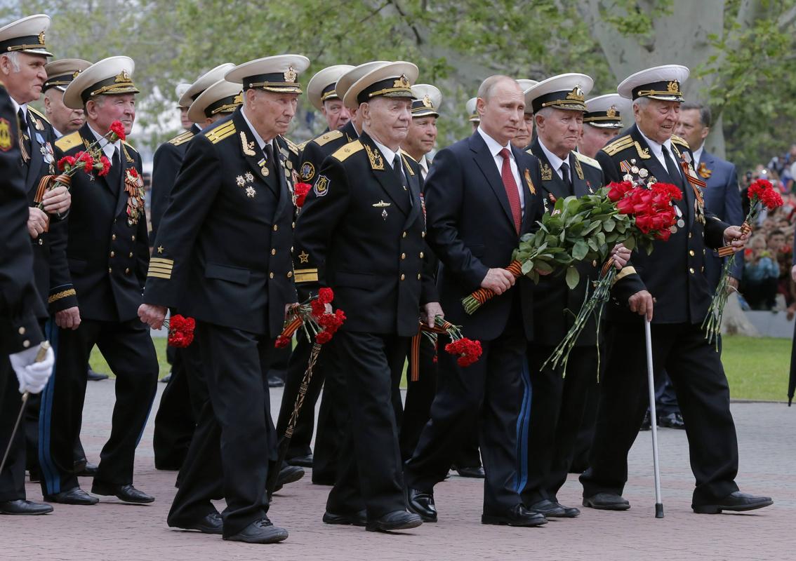 Nga, Ukraine diễu binh kỷ niệm chiến thắng phát xít Đức (9/5) 22