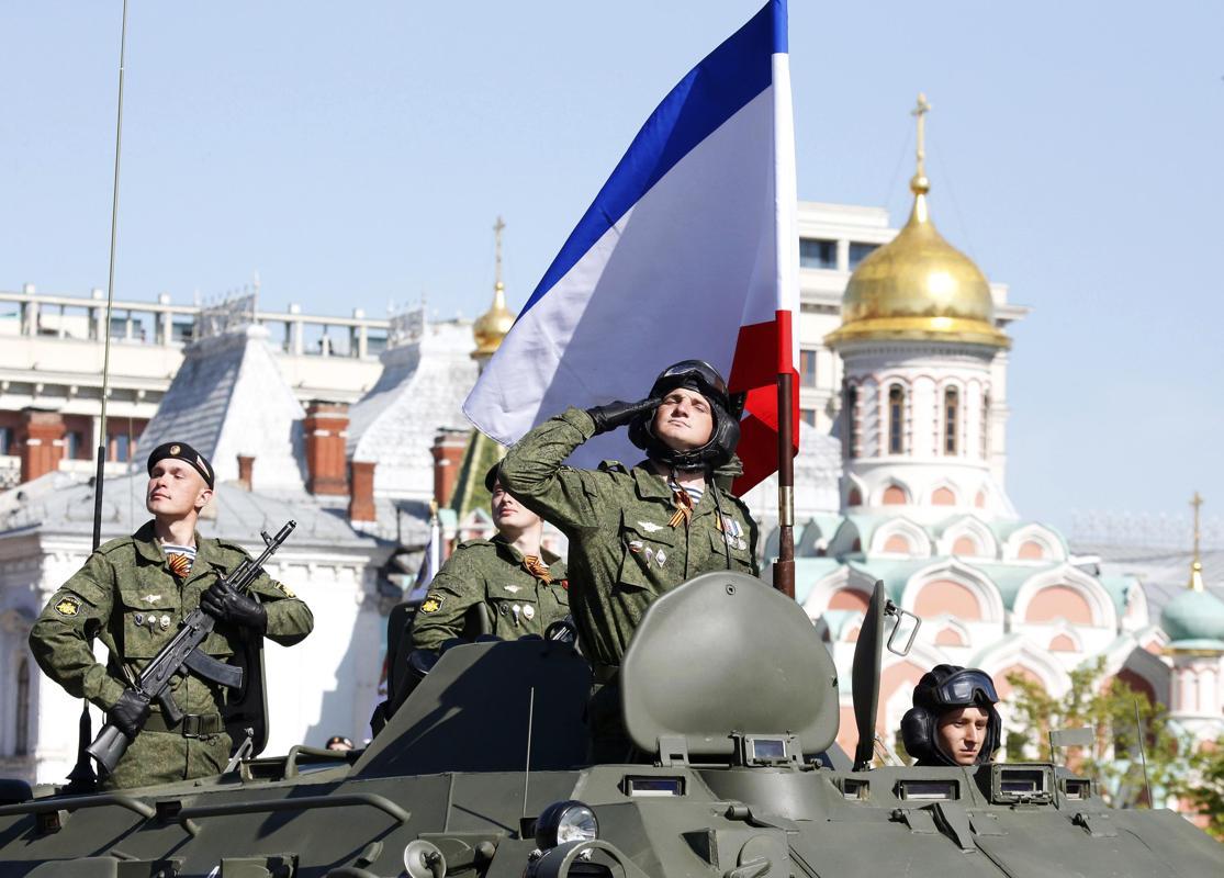 Nga, Ukraine diễu binh kỷ niệm chiến thắng phát xít Đức (9/5) 6