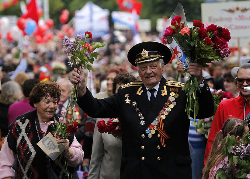 Nga, Ukraine diễu binh kỷ niệm chiến thắng phát xít Đức (9/5) 25