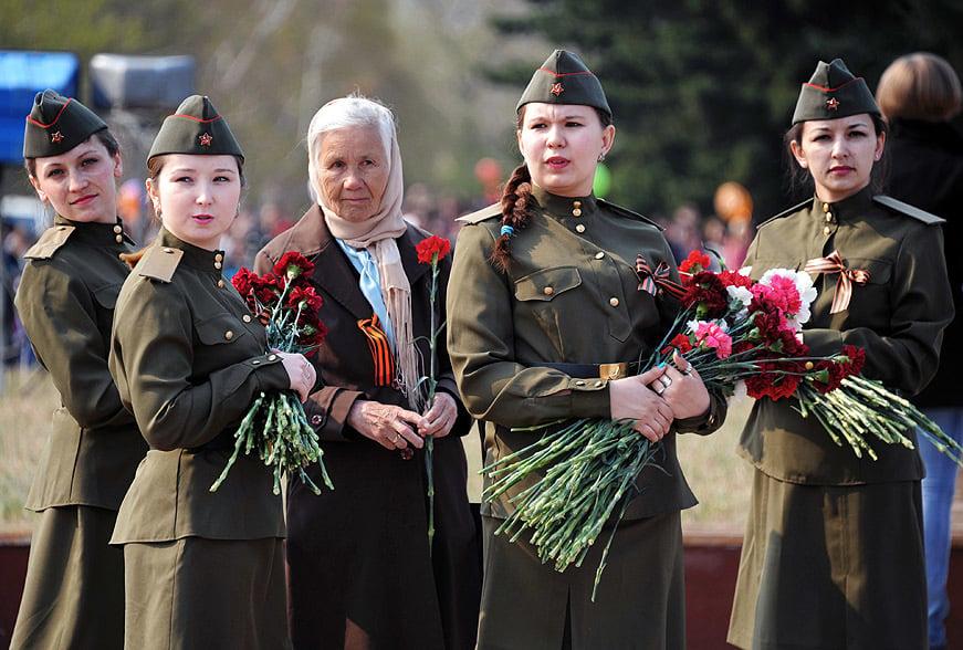Nga, Ukraine diễu binh kỷ niệm chiến thắng phát xít Đức (9/5) 26