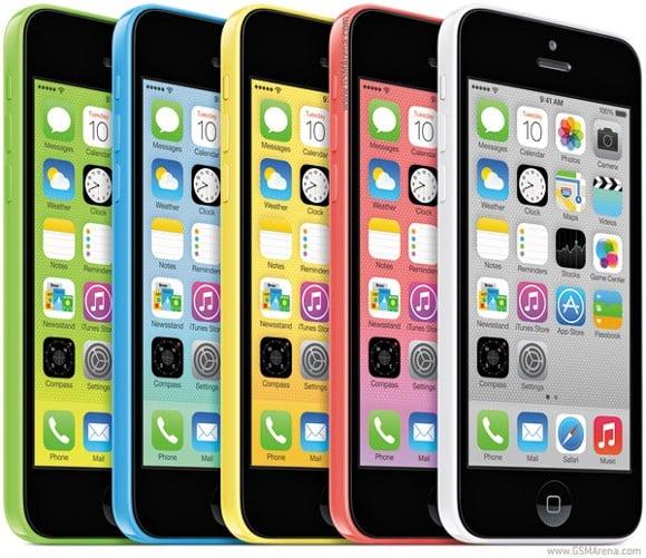 iPhone 5C 8GB sắp được bán ở Châu Á