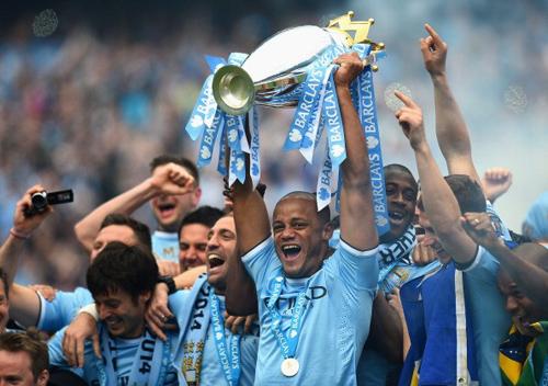 Man City chính thức lên ngôi vô địch Ngoại hạng Anh 5