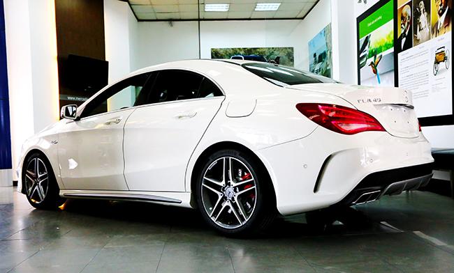 Hình ảnh Mercedes-Benz CLA-Class đã có giá chính thức tại Việt Nam số 2