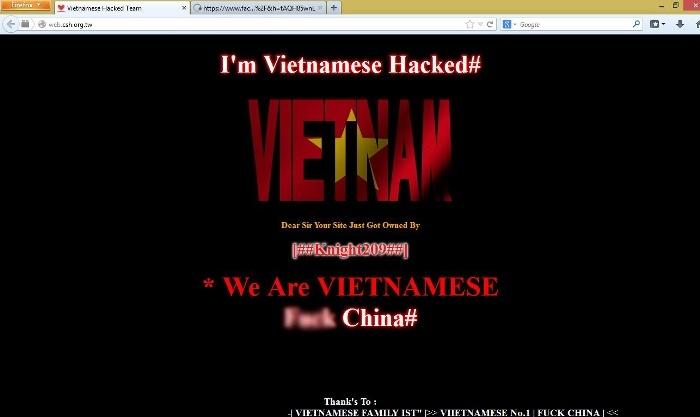 Nguy cơ bùng phát chiến tranh giữa hacker Việt Nam và Trung Quốc 8