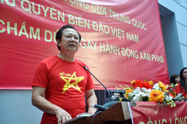 Hội Nghề cá Việt Nam mít tinh phản đối hành động của Trung Quốc 4