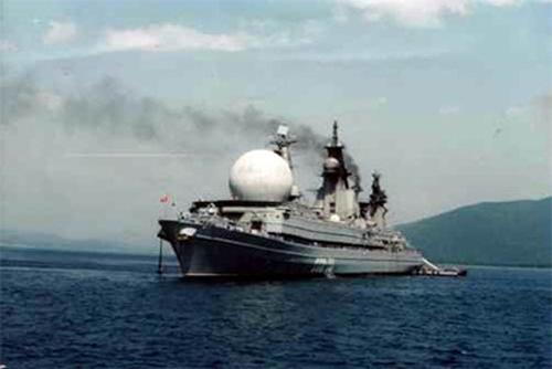 Chiến hạm trinh sát điện tử khổng lồ của Nga được khôi phục 6