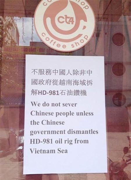 Không kì thị khách Trung Quốc dù căng thẳng leo thang 6