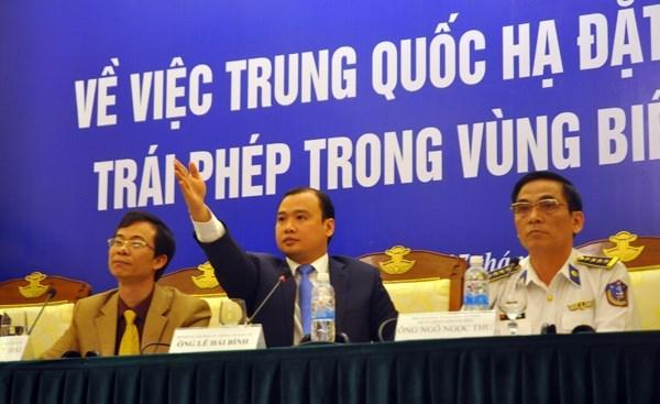 Bộ Ngoại giao cung cấp tin 'nóng' về tình hình biển Đông 5
