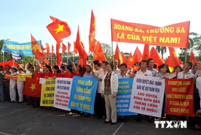 Míttinh tại Hải Phòng, Thanh Hóa phản đối Trung Quốc 7