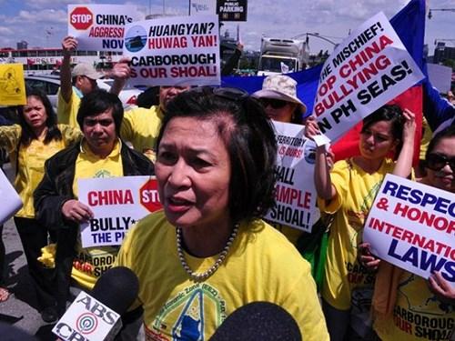 Philippines: Biểu tình ủng hộ Việt Nam, làm Trung Quốc phải
