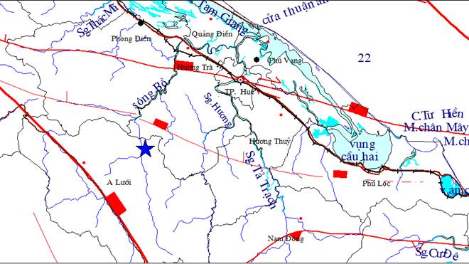Động đất 4,7 độ Richter bất thường ở Thừa Thiên-Huế 5