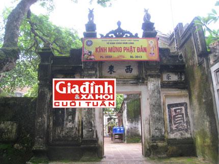 """""""Trùng tang"""" và những bí ẩn về ngôi chùa"""