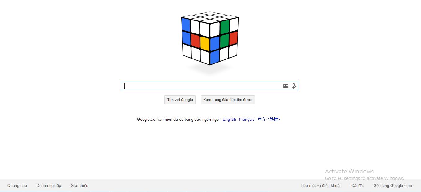 Trải nghiệm Ru-bích ảo trên trang chủ Google 6