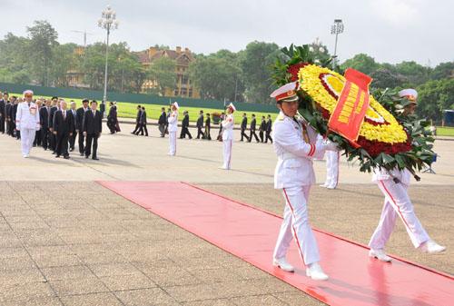 Đổi mới trong nghi lễ tại Lăng Chủ tịch Hồ Chí Minh 4