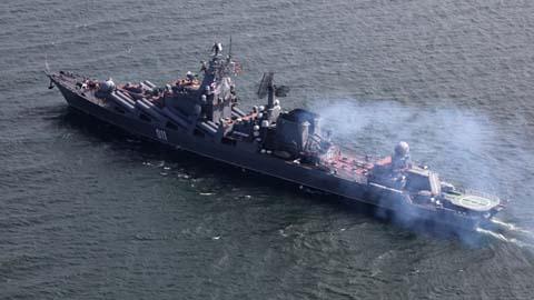 'Sát thủ tàu sân bay' Nga cập bến Thượng Hải, chuẩn bị tập trận chung với TQ 6