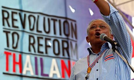 Thủ lĩnh biểu tình Thái sẽ đầu hàng nếu không thể lật đổ chính phủ  6