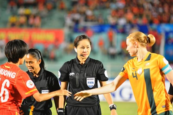 Nữ Việt Nam thua Australia vì trọng tài Thái Lan 6