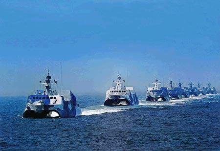 Đài Loan cấm tàu quân sự, tàu cá Trung Quốc lai vãng gần 6