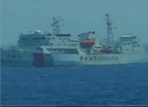 6 tàu Trung Quốc bao vây 1 tàu cảnh sát biển Việt Nam 6