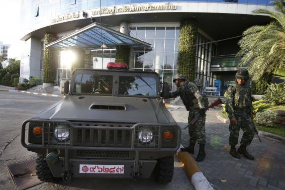 Thái Lan ban bố tình trạng thiết quân luật 4